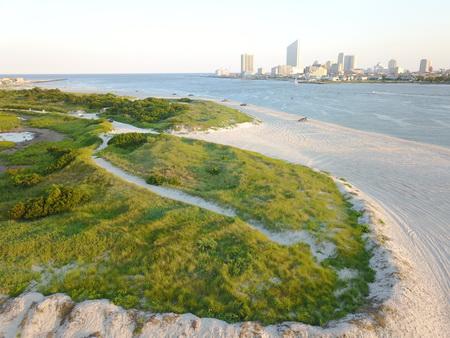 Luftbilder von Atlantic City
