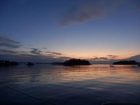 Sommerabend im LongIsland Sound