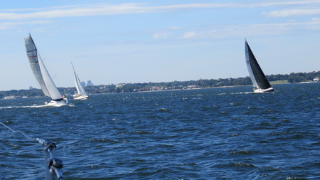 Segeln nach New Rochelle