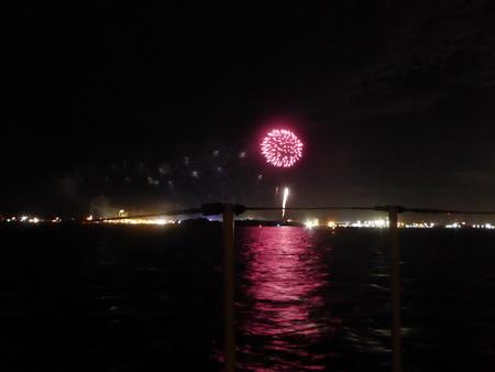 Feuerwerk in MHC