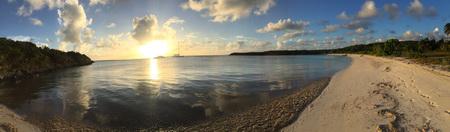 Sonnenuntergang in den Bahamas