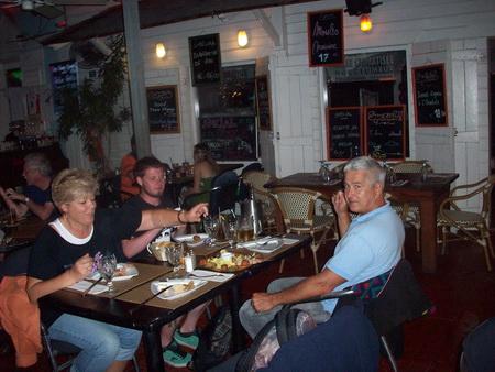 Abendessen Marigot