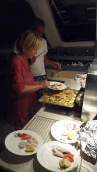 Abendessen auf blukat-1