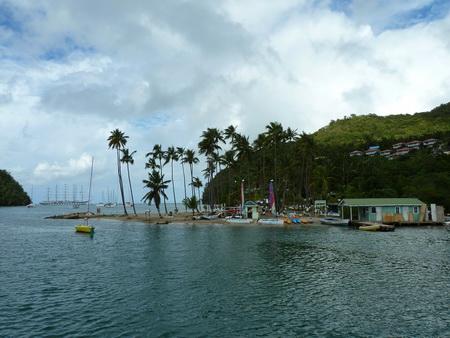 Ablegen von Marigot Bay