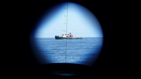 Algerische Fischer mit Ringnetz-3