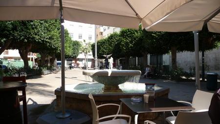 Almeria-Strassecafe