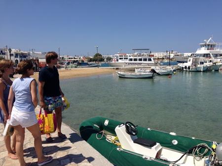 Einkauf auf Antiparos