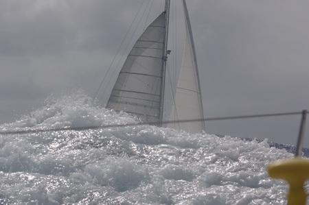 """blu:kat"" im Atlantik von ""TRIFON"" fotografiert"