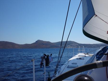 Auf See Levitha-Leros