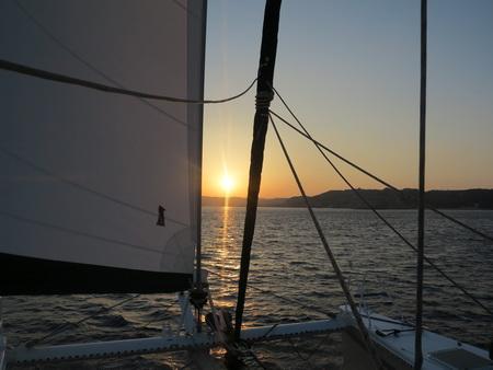 Auf See Nisyros-Kos
