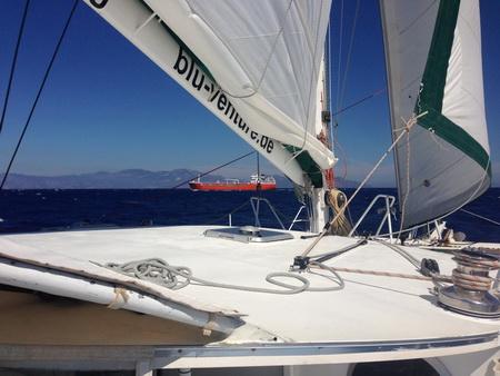 Auf See_Tilos-Symi