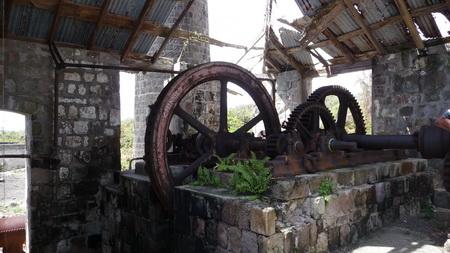 Ausflug Nevis-Zucker Mühle-13
