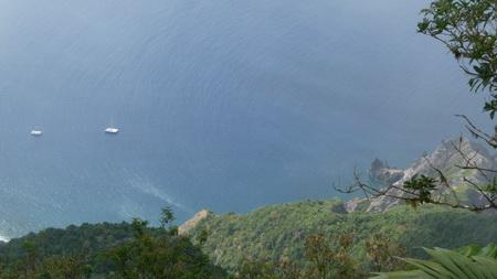 Ausflug Saba_Blick vom Gipfel des  MT Cenery-1110883