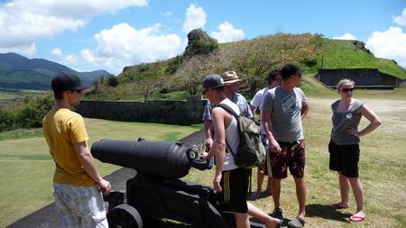 Ausflug auf Kitts-Festung Brimstone-37