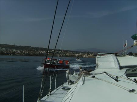 Hafenausfahrt Rethymno
