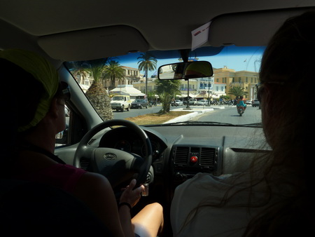 Autofahrt nach Vathy