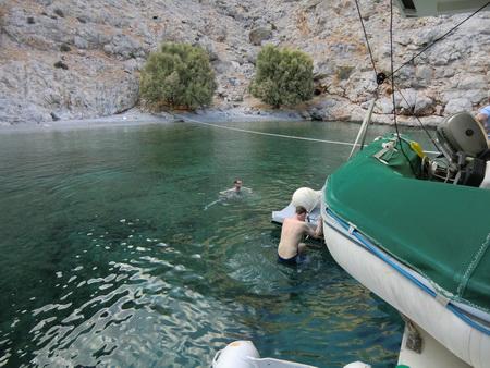 Badebucht nördlich Vathy_Kalymnos