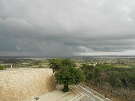 Blick übeer Malta von Mdina aus