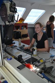 Blogschreiberin Andrea