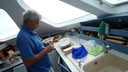 Brot backen Vorbereitung