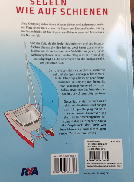 Buch Skippertrainig Katamaran