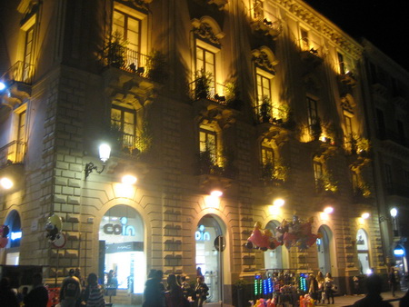 Catania am Abend