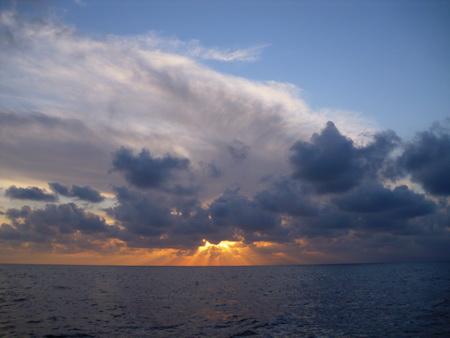 Woklen auf See