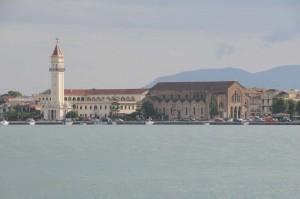 Ankunft im Hafen von Zakynthos