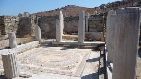 Delphinhaus auf Delos-19
