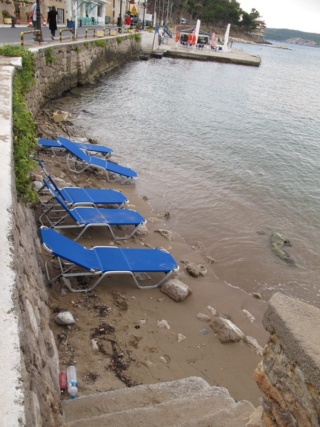 Ein kleiner Strand in Pylos