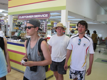 Einkauf Antigua