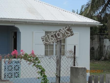 Einklarieren auf Barbuda-3