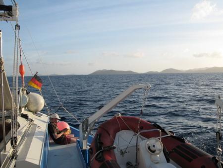 Fahrt zum Gorda Sound-672