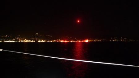 Feuerwerk Marienfest auf Paros