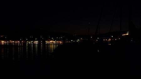 Fiscardo bei Nacht