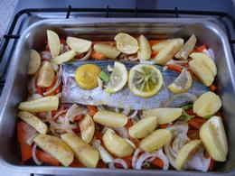 Fisch 1 im Ofen