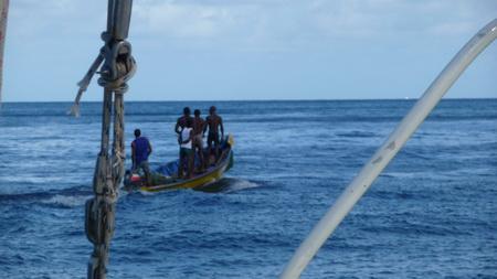 Fischer auf St.Lucia