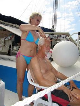 Friseur an Bord