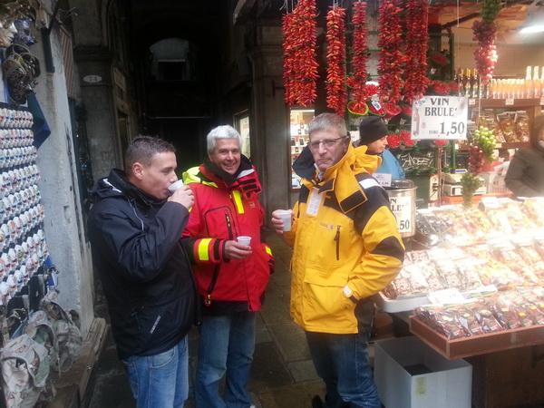 Glühwein in Venedig
