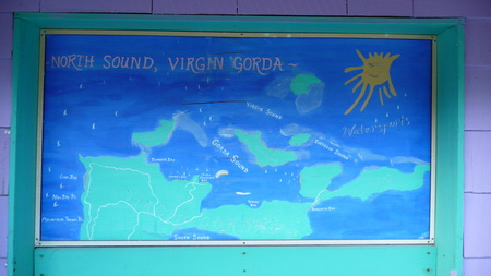 Gorda Sound  Map-2