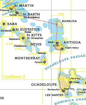 Guadeloupe-St-Martin Februar 2012