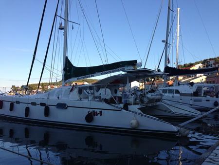 Hafen Gaios auf der Insel Paxos
