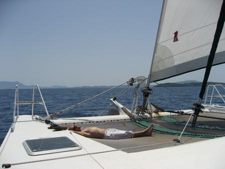 Entspannt Segeln