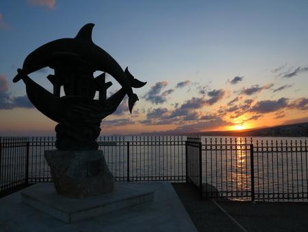 Delphine - das Wahrzeichen von Rethymno