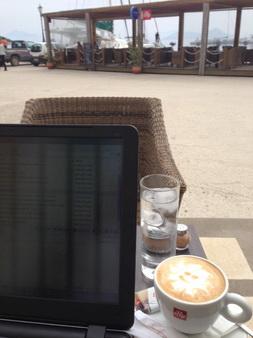 Kaffee mit Sonne in Frikes