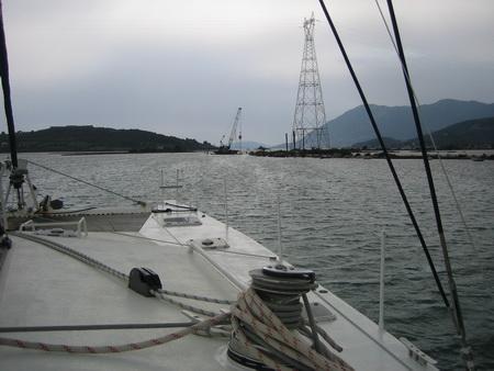 Kanaluasfahrt Lefkas