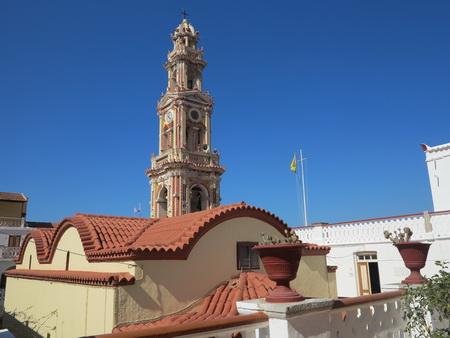 Glockenturm Kloster Panormitis_Symi