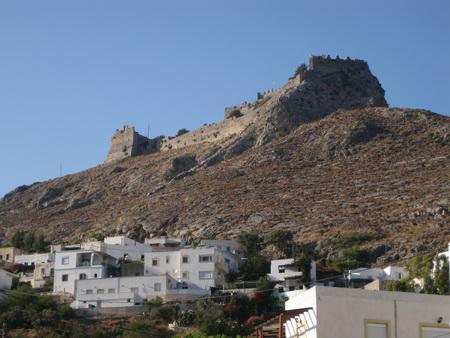 Kreuzritterfestung auf Leros