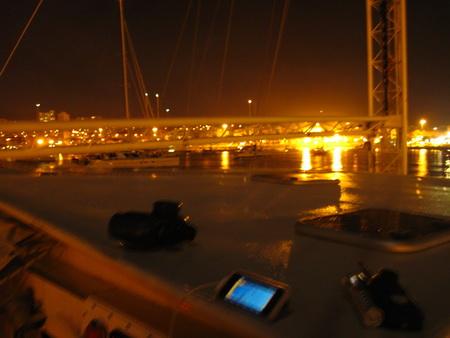LasPalmas-Ankunft bei Nacht