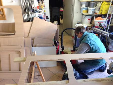 Möbelbau für VAVA-U_1